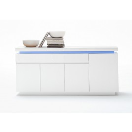 Meuble buffet design led 175 cm