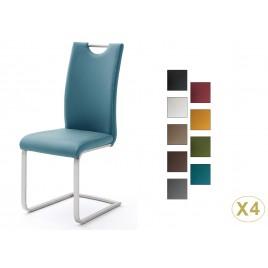 Chaises modernes avec poignée dossier