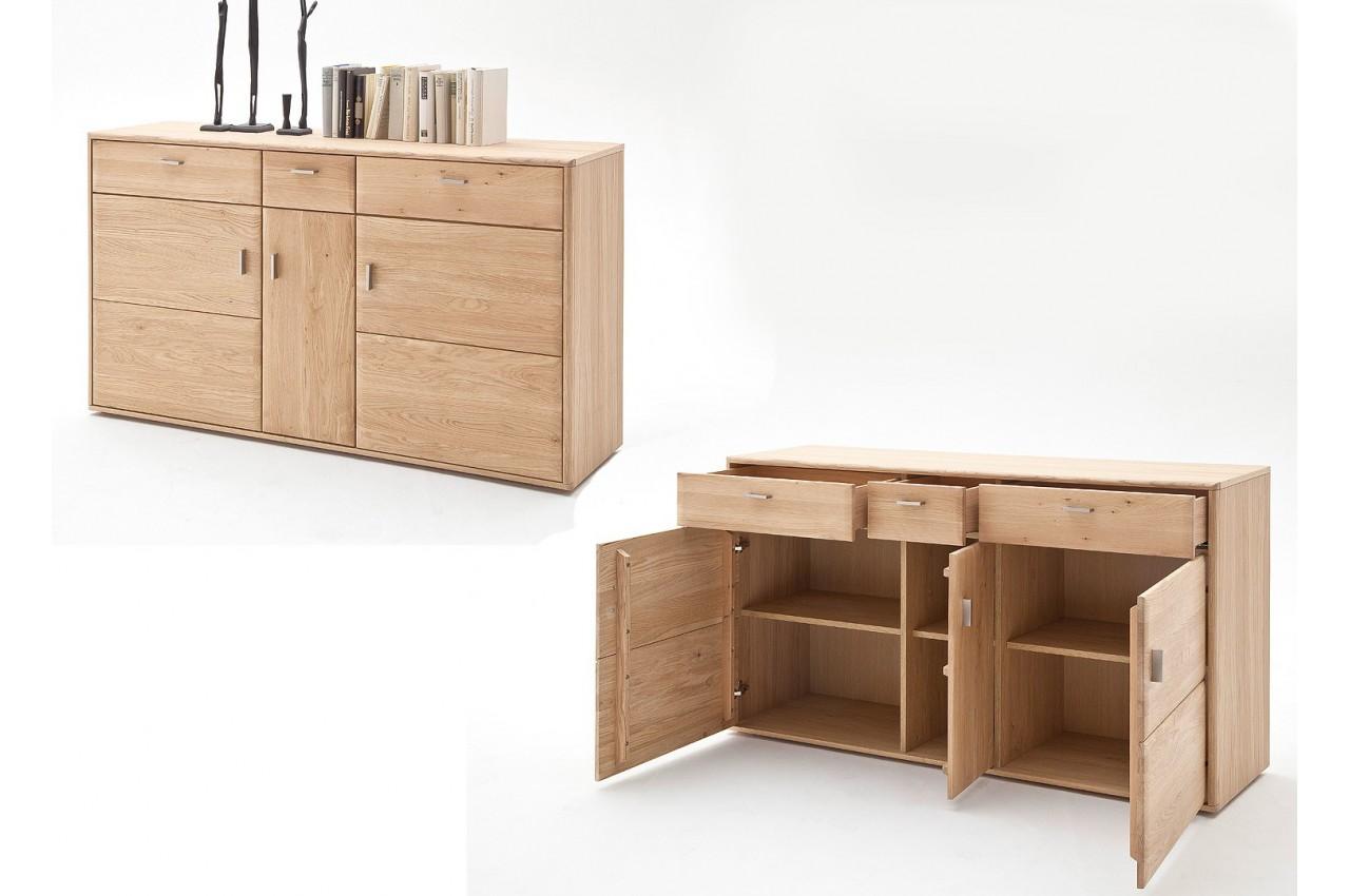 Salle manger moderne bois massif cbc meubles for Meubles salle a manger qualite