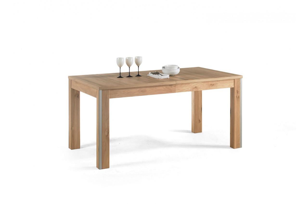Salle manger bois compl te cbc meubles for Meuble salle a manger bois
