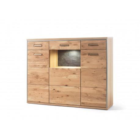 Buffet haut design bois massif
