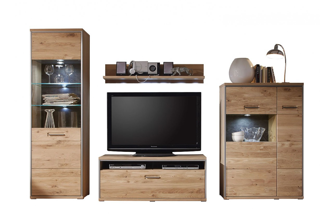 meuble tv design bois massif cbc meubles. Black Bedroom Furniture Sets. Home Design Ideas