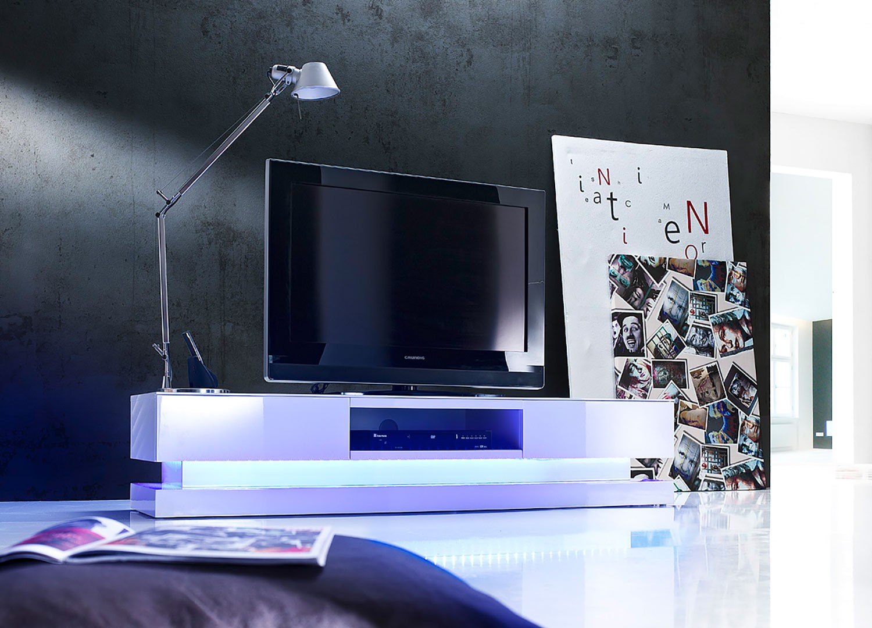 Meuble Tv Design Meuble Tv Bas Pour T L Vision Cbc Meubles # Meuble Tele Blanc Laque