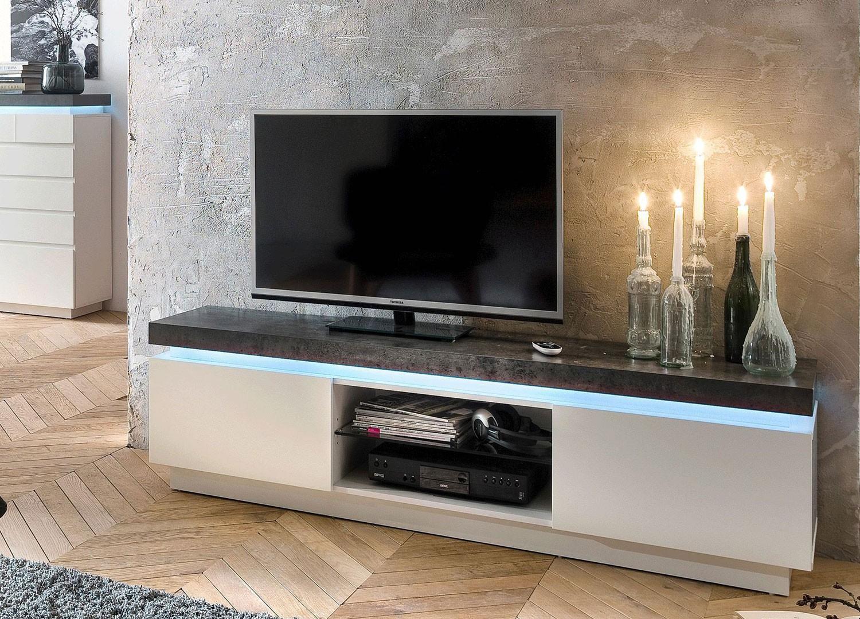 Meuble Tv Design Meuble Tv Bas Pour T L Vision Cbc Meubles # Composer Son Meuble Tv Mural