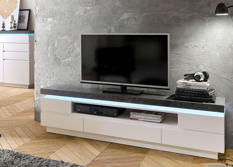 Meuble Tv Design Meuble Tv Bas Pour T L Vision Cbc Meubles # Meuble Tv Chambre A Coucher