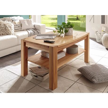 Table basse rectangulaire en bois massif