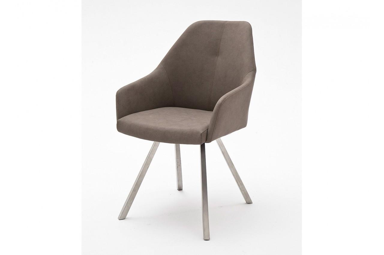 chaises design simili cuir pied carr conique cbc meubles. Black Bedroom Furniture Sets. Home Design Ideas