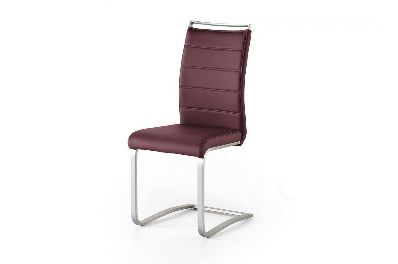 Chaise de salle manger avec poign e dossier cbc meubles for Chaises salle manger cuir dossier haut