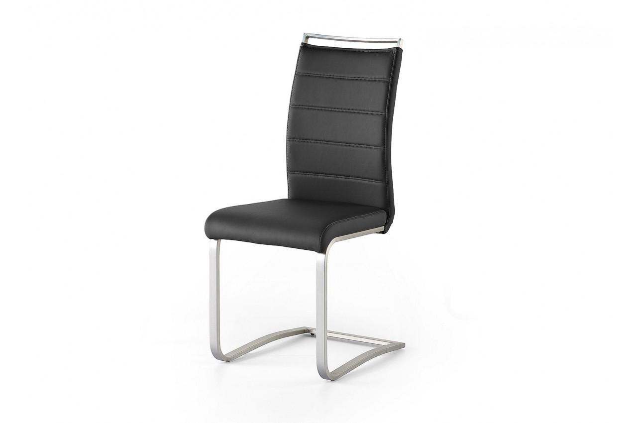 Chaise de salle a manger avec poignee dossier cbc meubles for Meuble salle À manger avec chaise cuir rouge salle manger