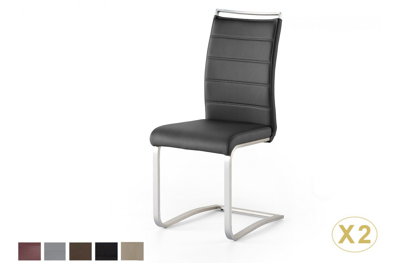 Chaise de salle a manger avec poignee dossier cbc meubles for Meuble salle À manger avec chaise salle a manger dossier haut