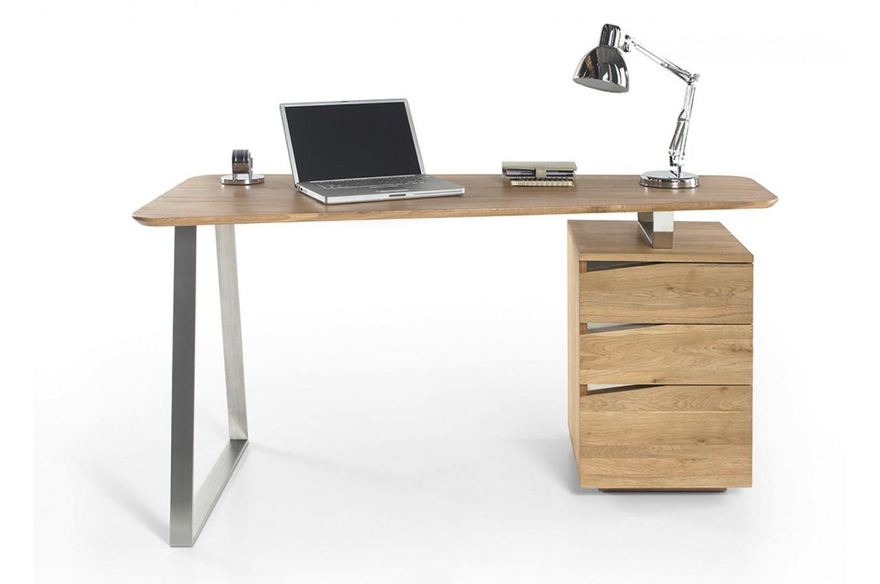 bureau bois massif cbc meubles. Black Bedroom Furniture Sets. Home Design Ideas