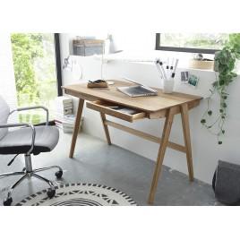 bureau design blanc laqu plateau pivotant cbc meubles. Black Bedroom Furniture Sets. Home Design Ideas