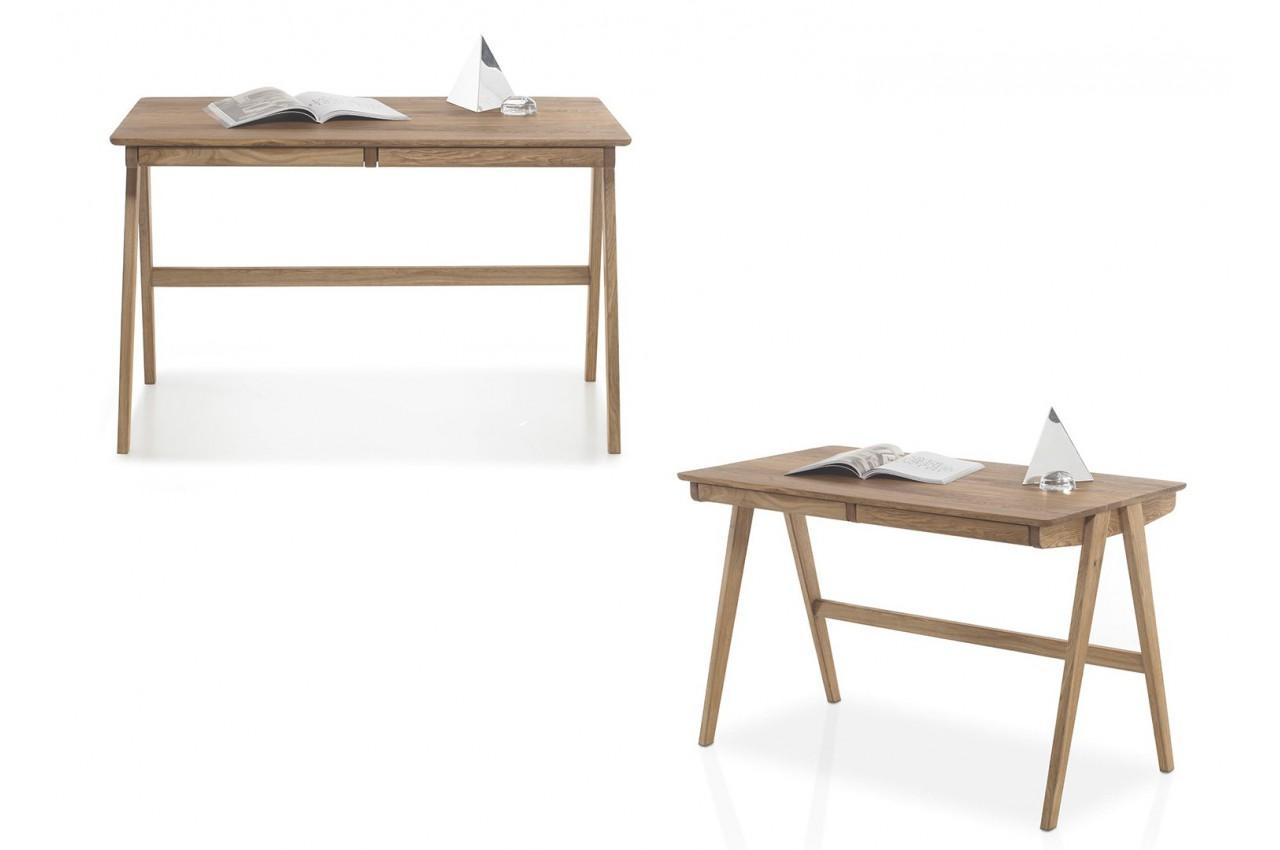 bureau scandinave bois massif cbc meubles