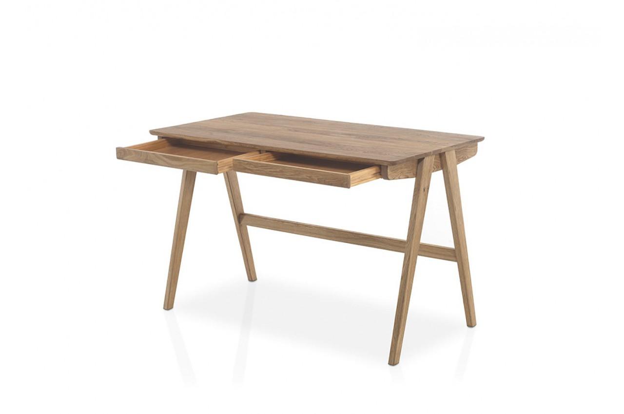 Bureau scandinave bois massif cbc meubles - Bureau ministre pas cher ...
