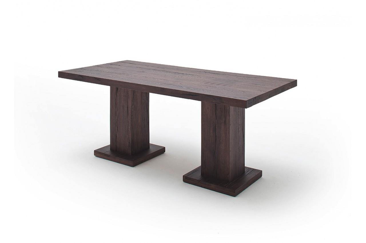 Table repas bois massif 180 cm cbc meubles - Table repas bois massif ...