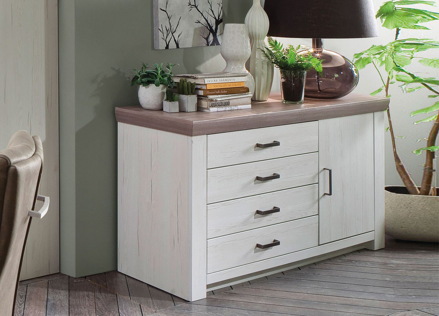 buffet bois blanc simple buffet bois blanc mzaol com con. Black Bedroom Furniture Sets. Home Design Ideas