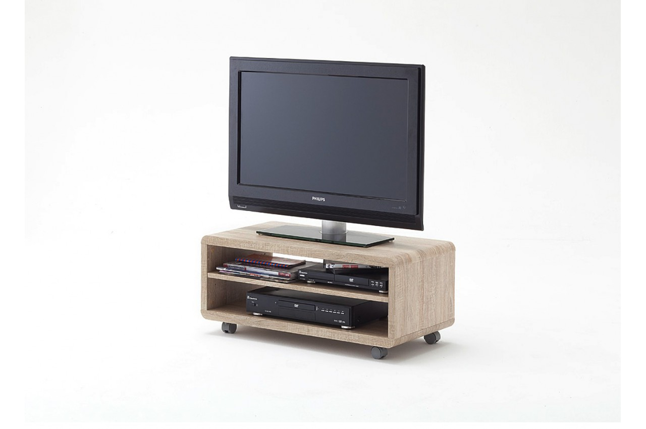meuble tv bois sur roulettes pas cher cbc meubles. Black Bedroom Furniture Sets. Home Design Ideas