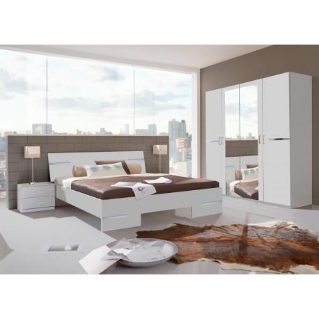 Chambre complète blanche