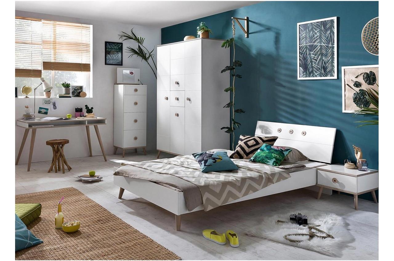 Chambre enfant compl te 5 l ments cbc meubles - Chambre complete enfants ...