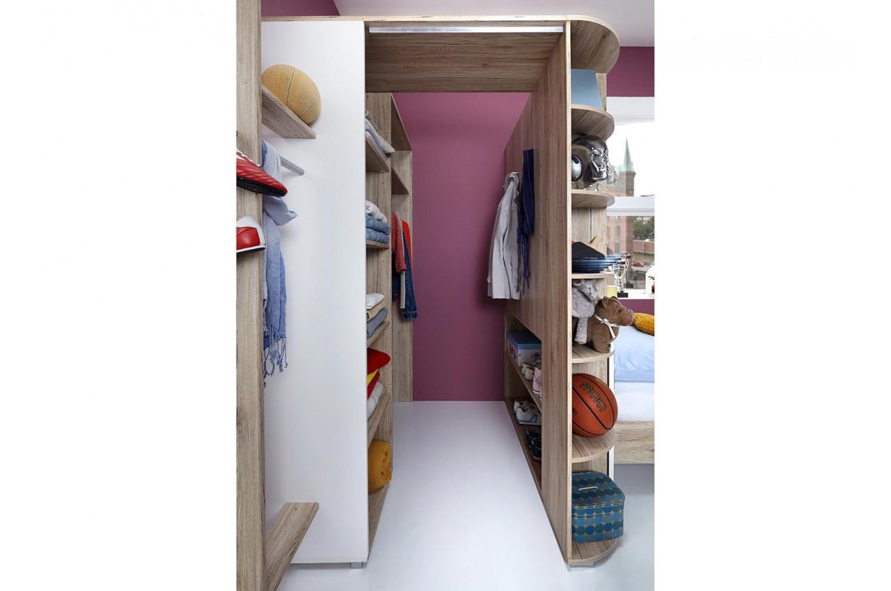 armoire d 39 angle chambre enfant cbc meubles. Black Bedroom Furniture Sets. Home Design Ideas
