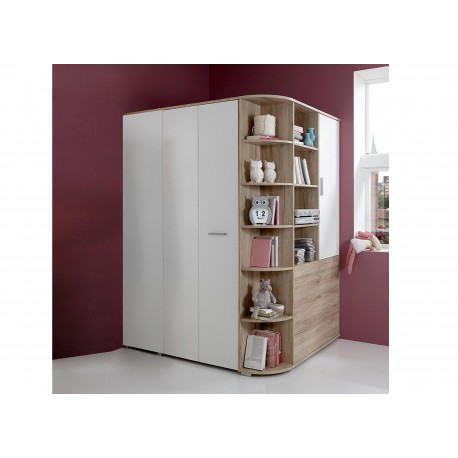 armoire d 39 angle chambre enfant cbc meubles. Black Bedroom Furniture Sets. Home Design Ideas