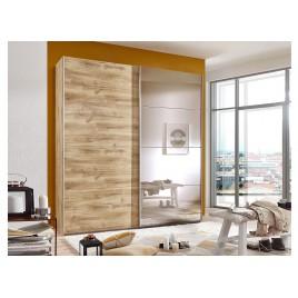 Armoire à portes coulissantes avec miroir