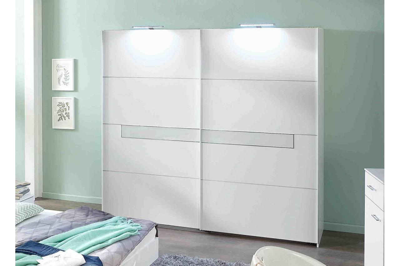 chambre adulte compl te design blanche cbc meubles. Black Bedroom Furniture Sets. Home Design Ideas