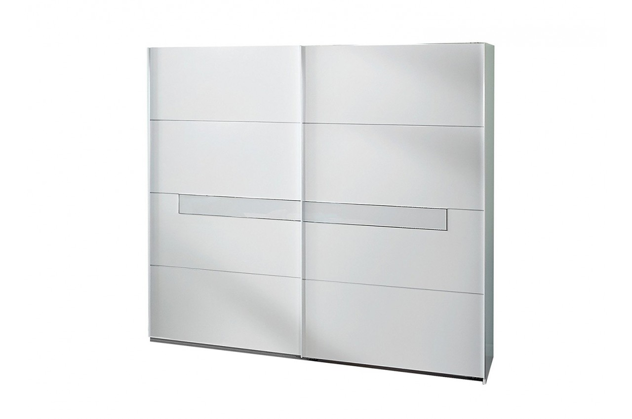 Chambre adulte compl te design blanche cbc meubles - Chambre adulte blanche ...