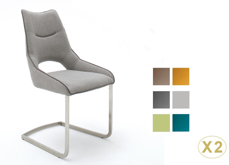 Chaises pas cher design tissu