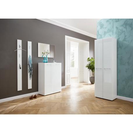 Entree Moderne meuble d'entrée moderne blanc - cbc-meubles