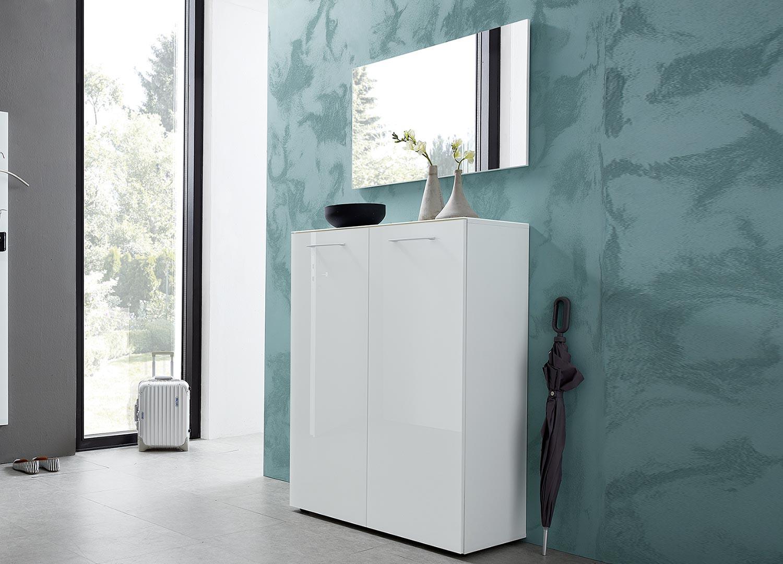 Porte Chaussure Derriere Porte meuble à chaussures blanc design - cbc-meubles