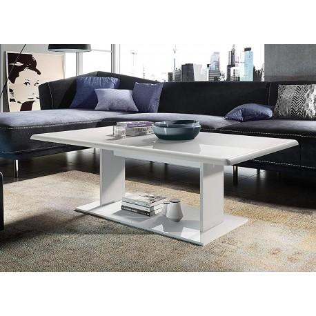 Table basse laquée pas cher rectangulaire
