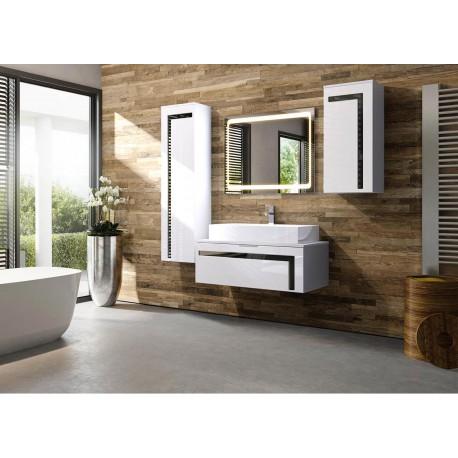 Meubles de salle de bain + lavabo + robinet