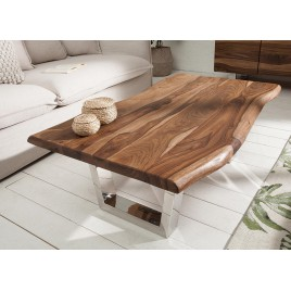Table basse rectangulaire bois sesham 110 cm