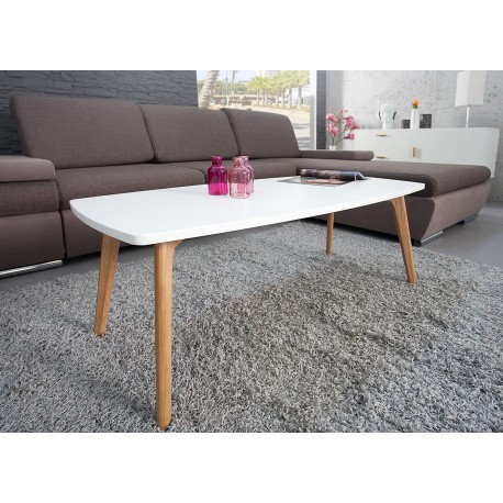 Table basse scandinave rectangulaire 110 cm