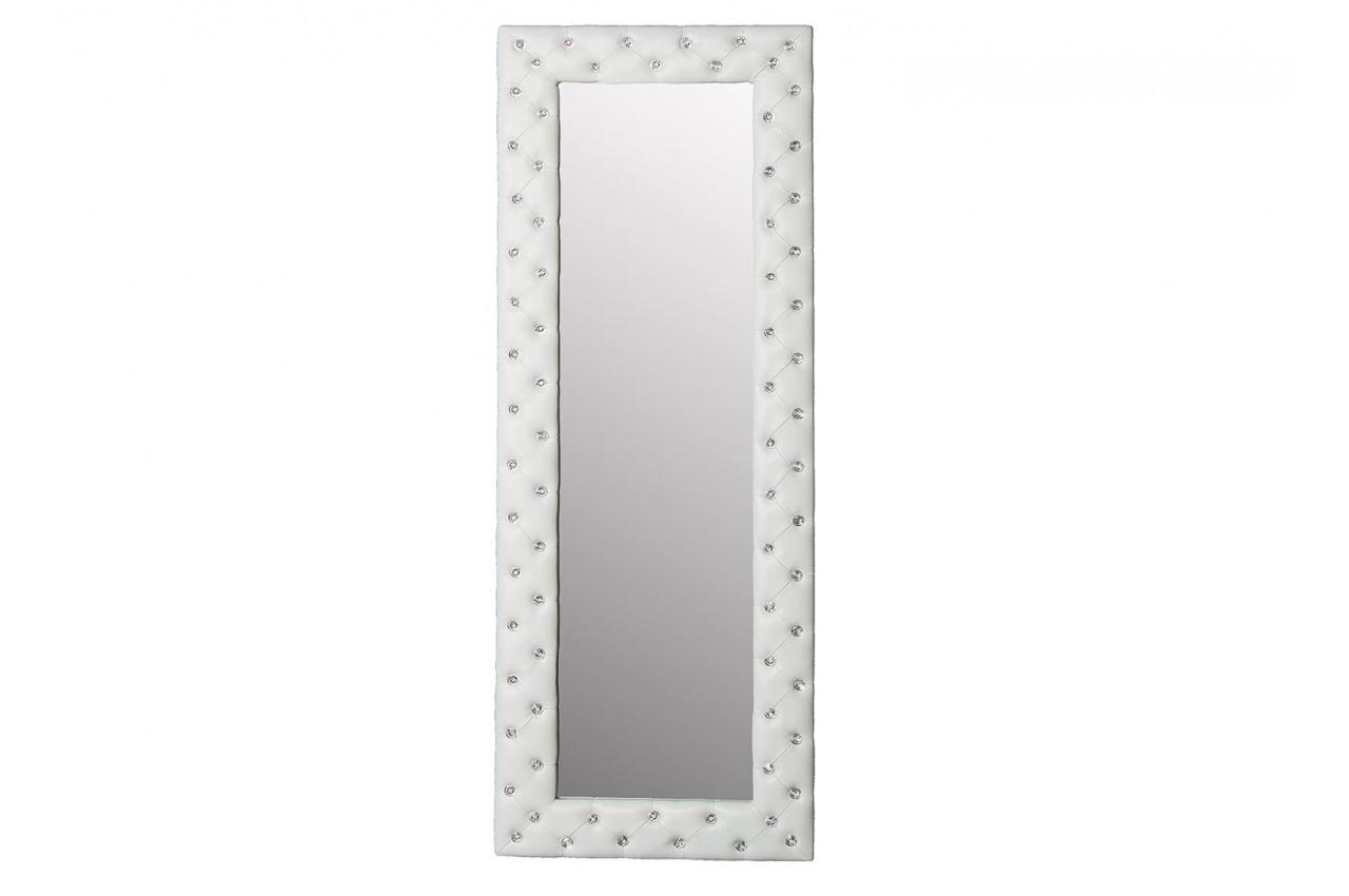Miroir rectangulaire strass blanc 170 cm - Cbc-Meubles