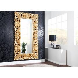 Grand miroir finition or antique de style baroque 180 cm