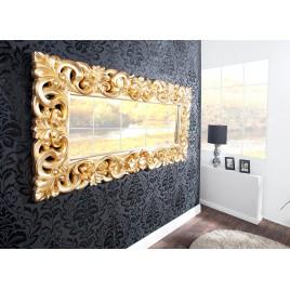 Grand Miroir Or Antique De Style Baroque 180 Cm