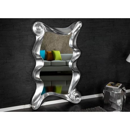 Miroir mural argenté 160 cm