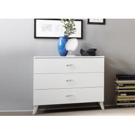 Commode meuble de chambre 3 tiroirs
