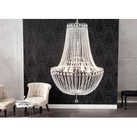 Lustre cristal moderne 110 cm