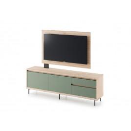 Meuble TV 1m69 avec panneau tv pivotant
