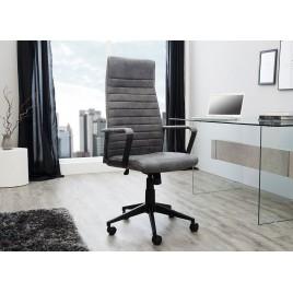 Fauteuil de bureau avec accoudoirs gris