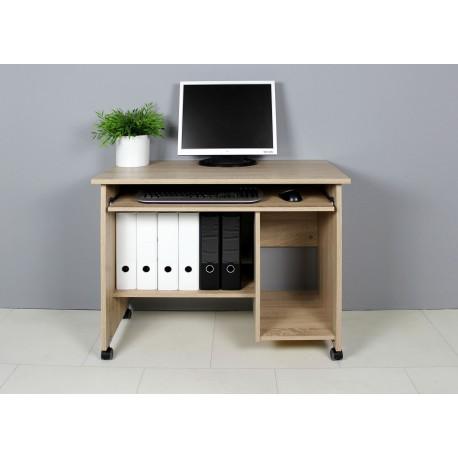Petit bureau compact avec rangement