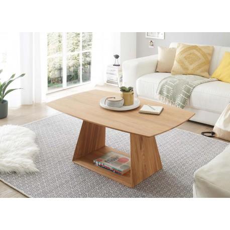 Table basse rectangulaire bois chêne sauvage