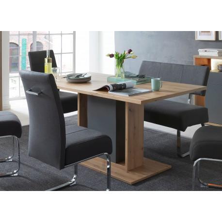 Table à manger design rectangulaire 1m60