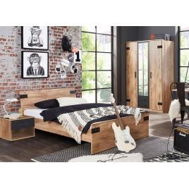 Ensemble de mobilier chambre ado style industriel