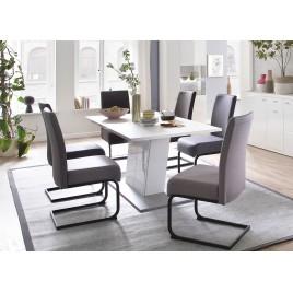 Table de salle à manger blanche 1m60