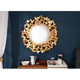 Miroir rond doré 78 cm