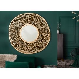 Miroir mural élégant couleur or 112 cm
